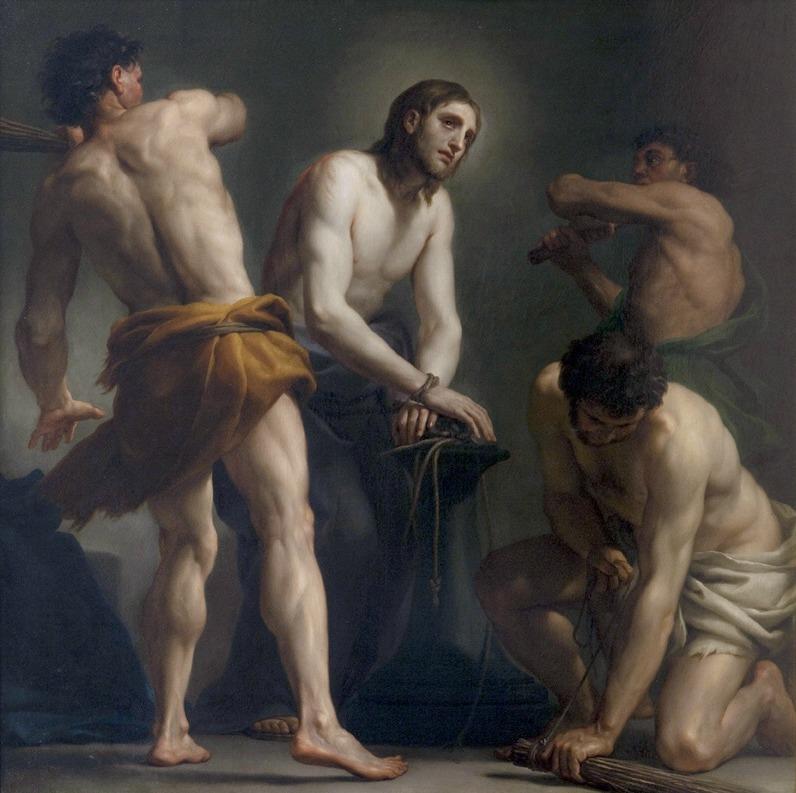 La flagelación de Cristo, Anton Raphael Mengs (1728-1779)