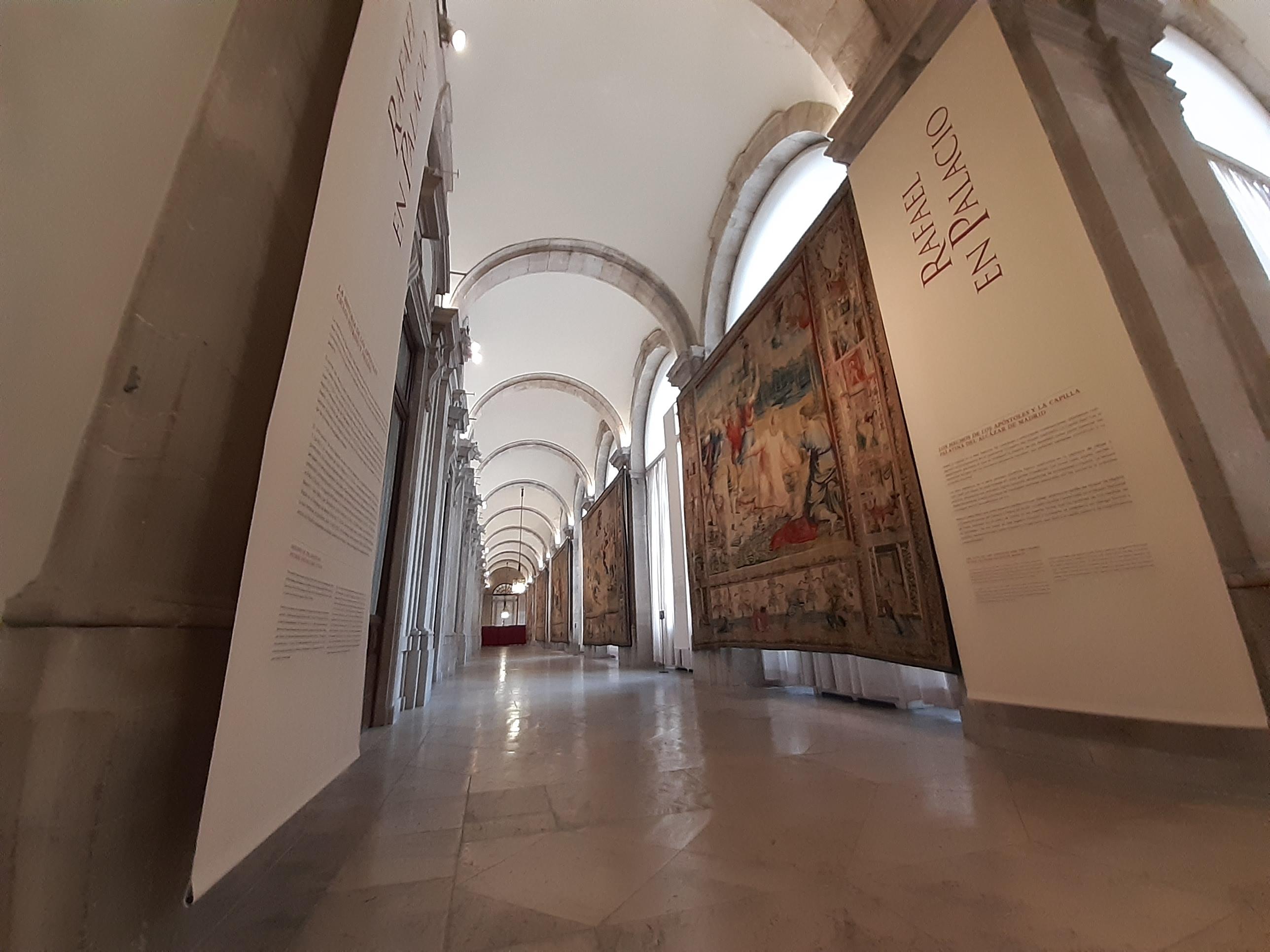 Resultado de imagen de rafael en palacio exposicion